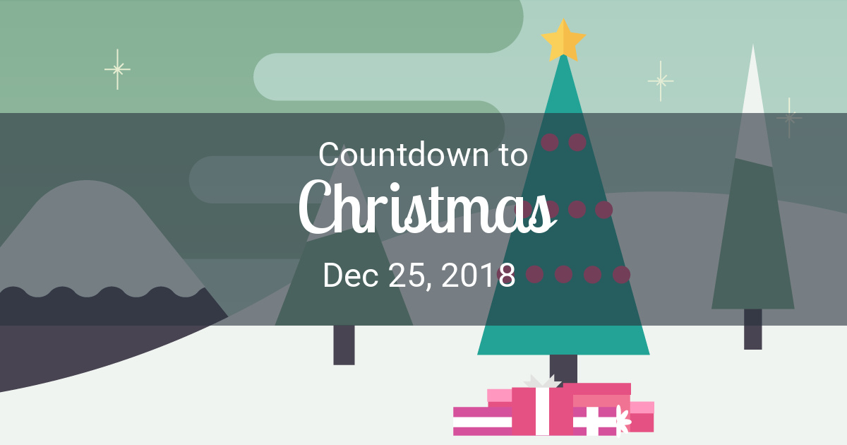 Christmas Countdown Weeks