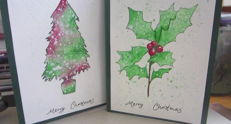 Readymade Merry Christmas Cards