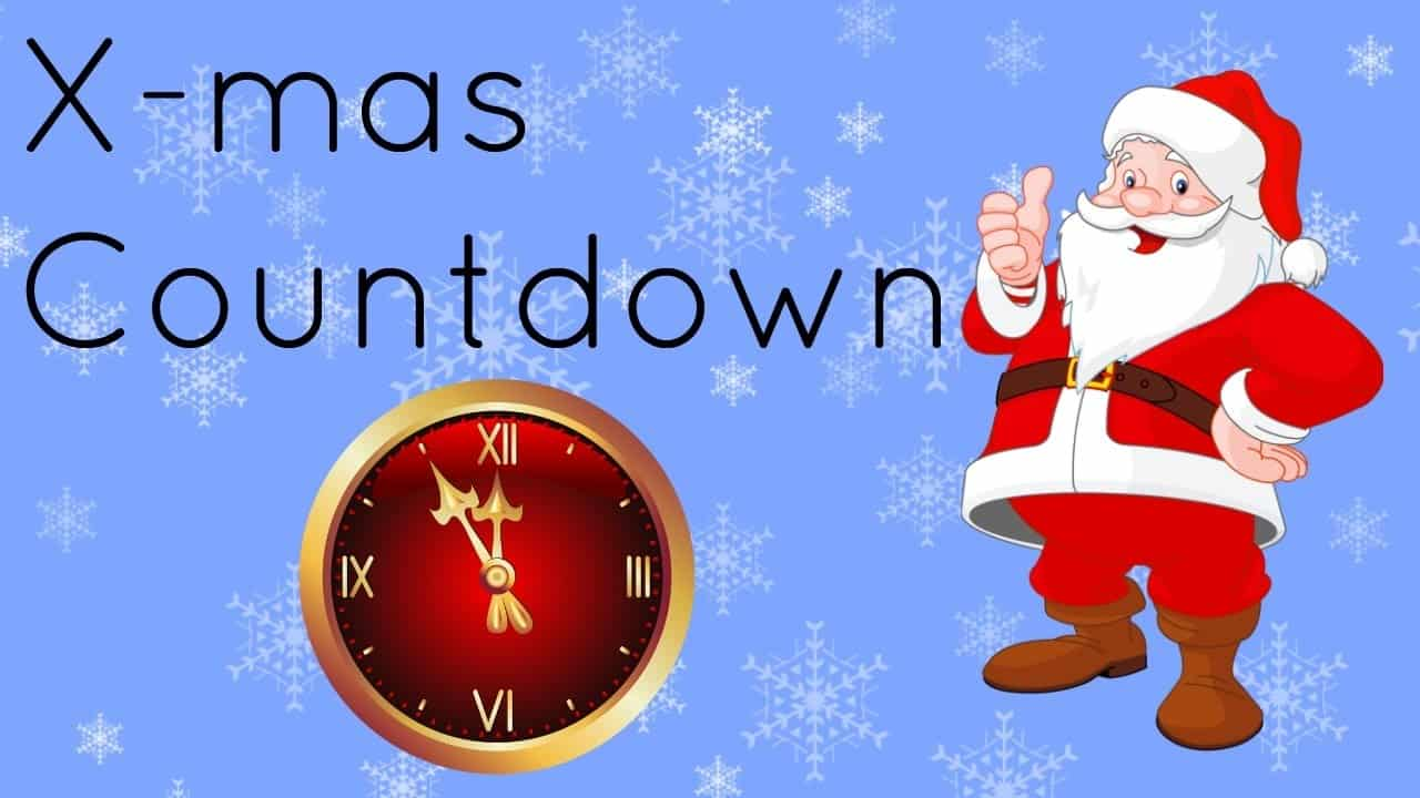 How Many Days Till Christmas 2019.Merry Christmas Countdown 2019 How Many Days Till Happy