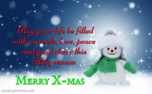Merry Christmas Messages, Happy Christmas Day 2018 SMS Messages