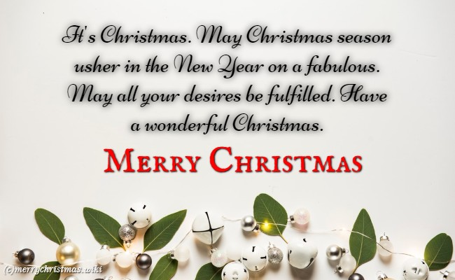 merry Christmas Messages For her