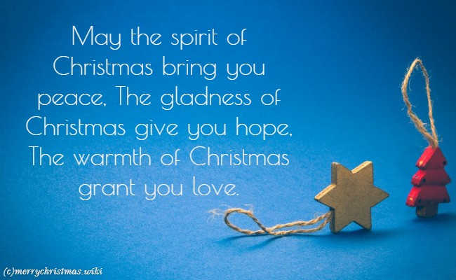 inspirational christmas sayings