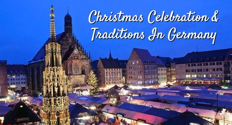 Christmas celebration and traditions in Germany