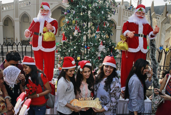 Christmas Celebration in the India
