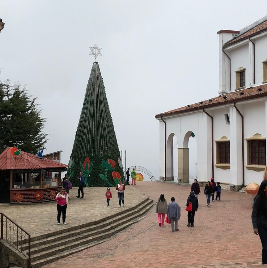 Christmas celebration in Colombia