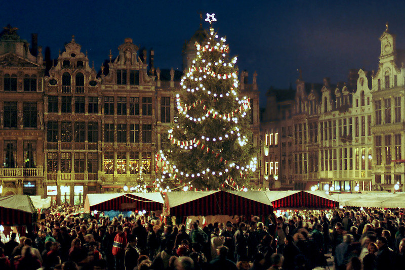 Spirit of Merry Christmas in Belgium