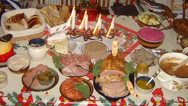Christmas celebration in Romania