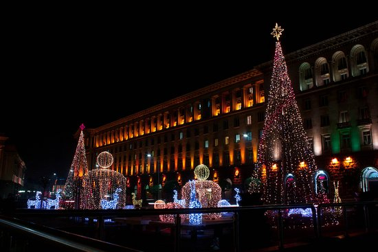 celebration Christmas in Bulgaria