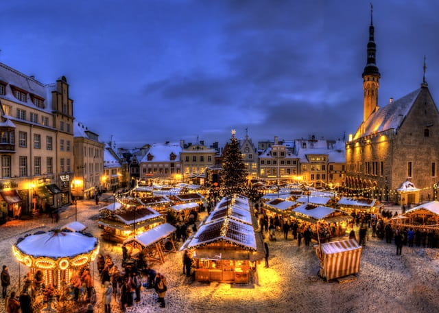 Merry Christmas in Estonia