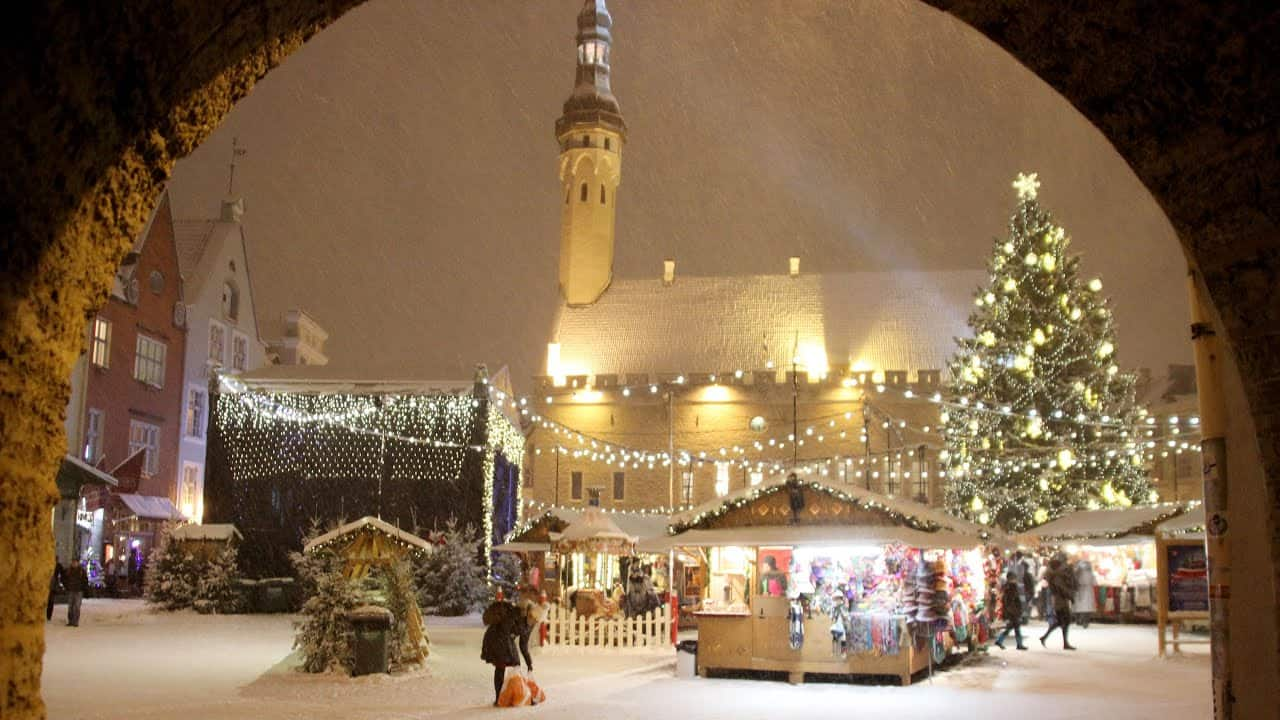 Christmas Celebration in Estonia