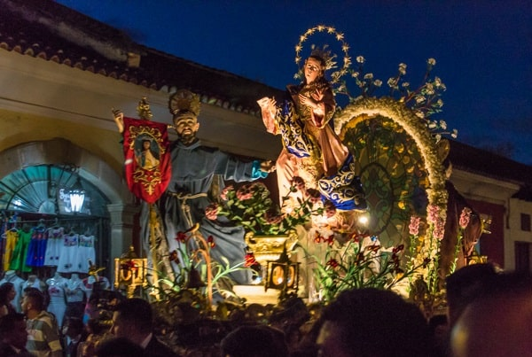 Christmas traditions in Guatemala