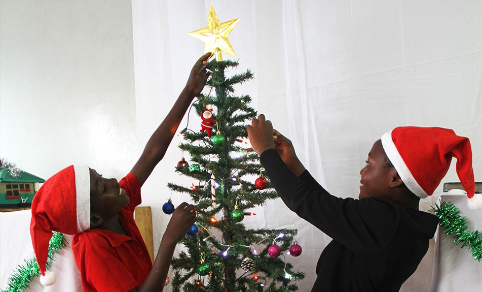 Christmas Celebration in Zambia