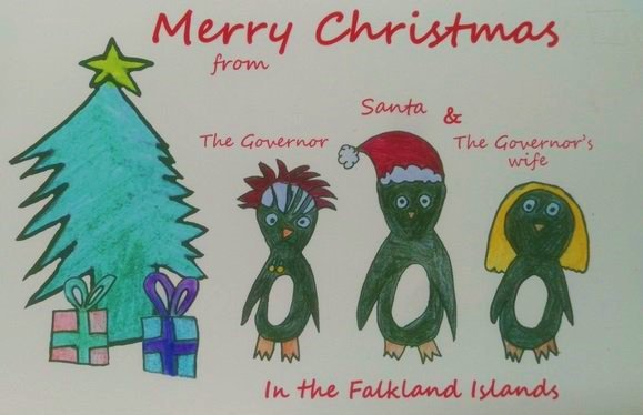 Merry Christmas in Falkland Islands