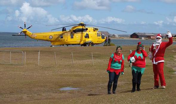 Christmas Celebration in Falkland Islands