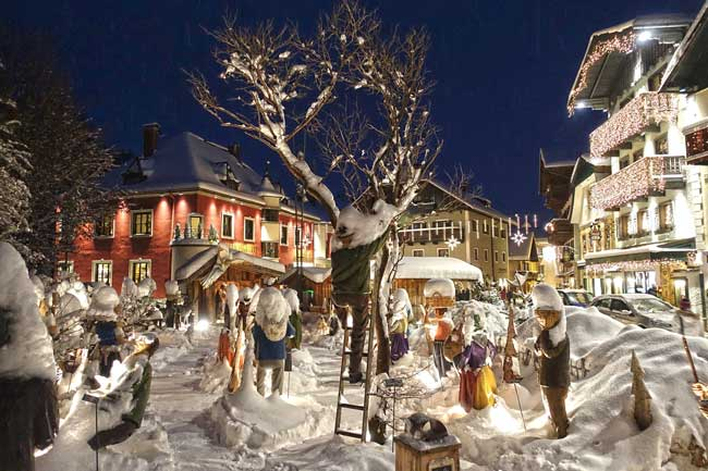 Places to Visit on Merry Christmas in Austria