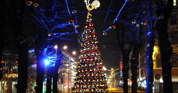 Christmas Celebration in Latvia