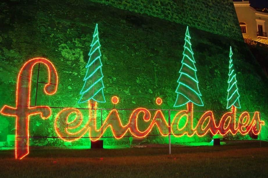 how to celebration Christmas in Puerto Rico