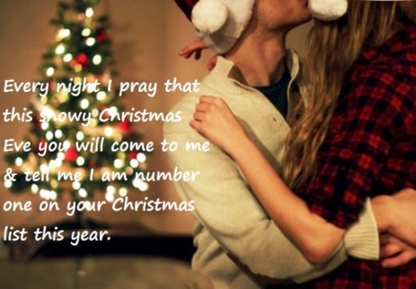 Christmas Quotes For Girlfriend