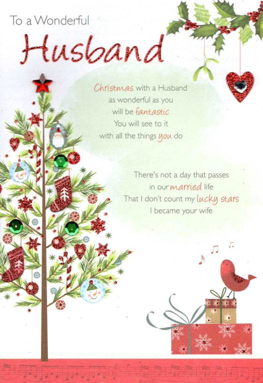 A Husband For Christmas.Merry Christmas Wishes For Boyfriend Husband Best Quotes