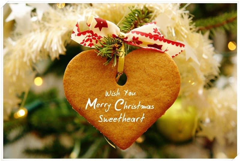 Christmas wishes For sweetheart