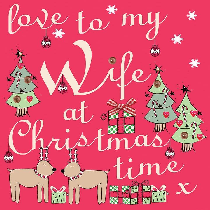 Merry Christmas Wishes 2019 for Wife