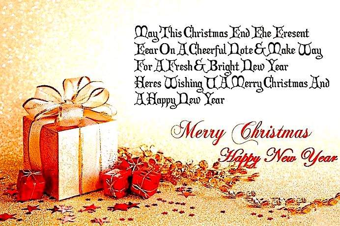 christmas and new year quotes images