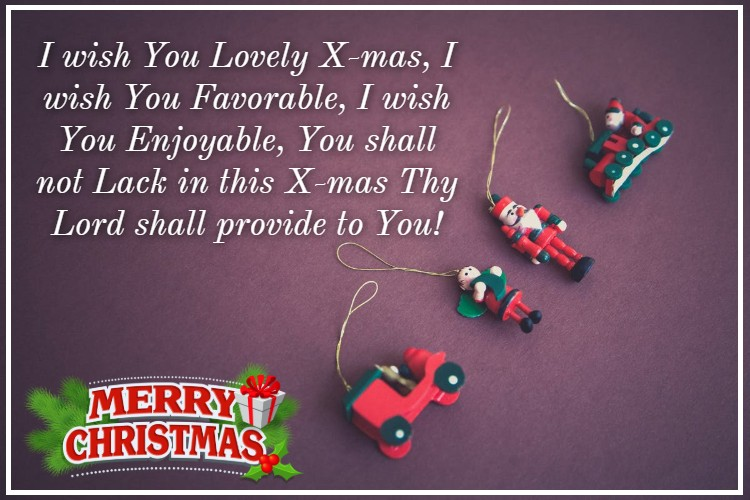 Christmas Wishes for Best Friend