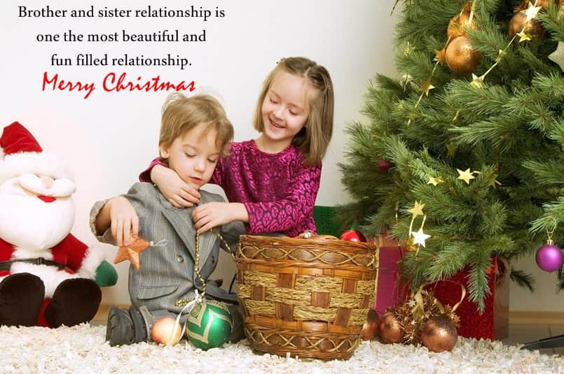 Christmas Messages for Brother
