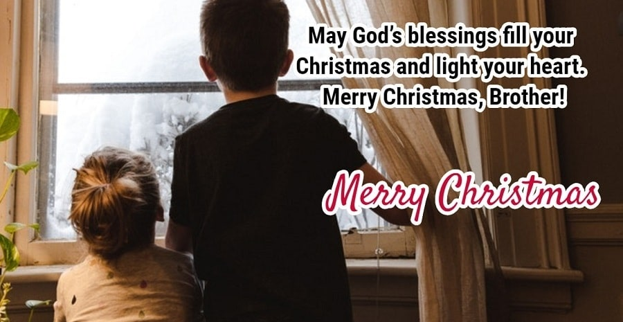 Merry Christmas Greetings for Brother
