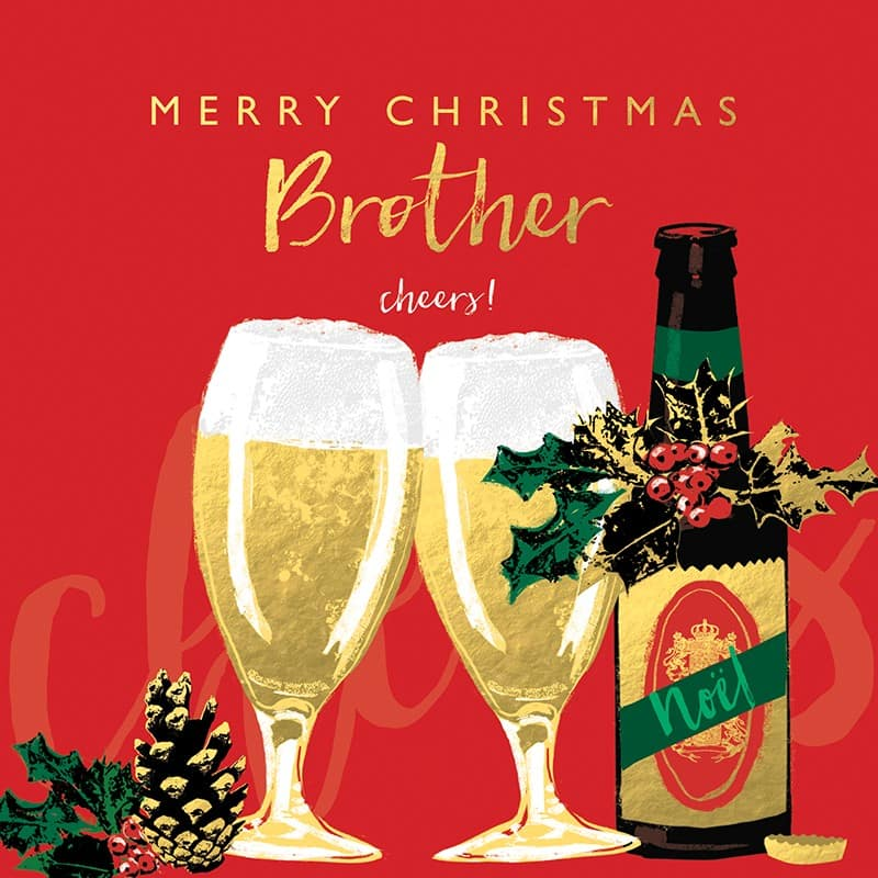 Merry Christmas 2018 Messages for Brother