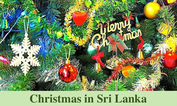 Merry Christmas in Sri Lanka