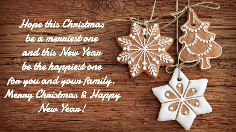 merry christmas and happy new year 2019 Messages
