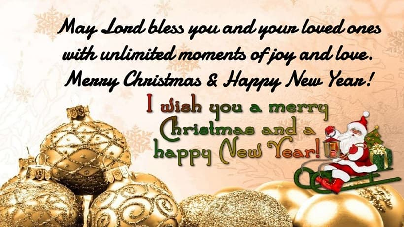 christmas and new year 2019 wishes