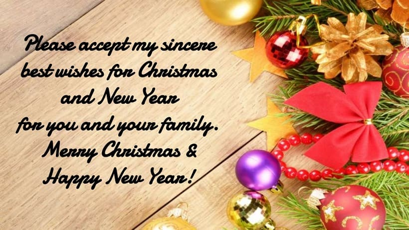 merry christmas and happy new year 2019 greetings